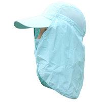 D45 2014 Outdoor Men Women Sun UV Block Quick Drying Fishing Hats Summer Sun Cap outdoor Travel Mountain Climbing Freeship