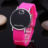 Hello Kitty LED Digital Cartoon Watch Bracelet Ladies Wristwatches Children kids Boys Girls Quartz Watch Women Sports Watches