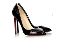SALE free shipping fashion sexy high heeled pumps wedding shoes black size 39