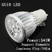 Cool/Warm White AC110V-220V LED Spotlight GU10 15W 45 Degree LED Light Bulbs Lampada Led Spot GU10 Base