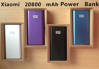 Original Xiao Mi Power Bank 20800mAh External Battery Charger for Xiaomi M2 M2A M2S M3 for iphone5 5s Tablet Mobile Backup Power