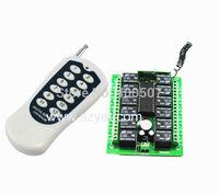 wireless receiver controller and transmitter for garage door opener rolling door wireless switch YET412PC