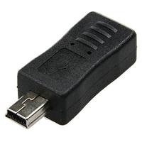Micro USB Female to Mini USB Male Adapter