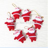 Small Santa Claus Christmas tree ornaments Christmas supplies decorative gift