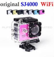 sj4000 wifi Sport camera Waterproof Action dvr Novatek 96650 helmet Cam night vision 1080P 30 meters underwater free shipping