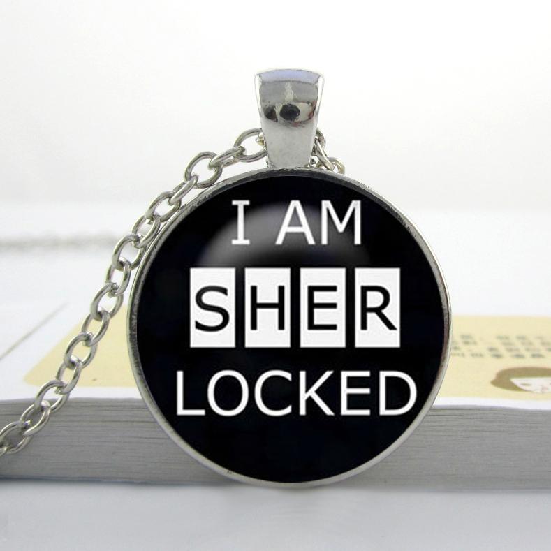 collier sherlock sherlock holmes je suis sherlocked collier pendentif