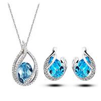 fashion bridal silver jewelry set, Tz-1316