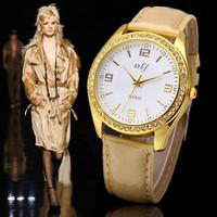 HOT Women Rhinestone Watch with Casual Style.PU Leather Ladies Wristwatches.2014 NEW Dress Watches Luxury Quartz Watch Clock