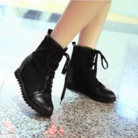 2014 new winter shoes bind restoring ancient ways round head flat boots women's boots  fSzF