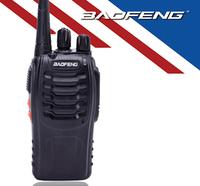 BF 888S Handheld CB 2-Way Radio BaoFeng BF-888S Walkie Talkie UHF 5W 16CH  Single Band Hot Black Free Shipping