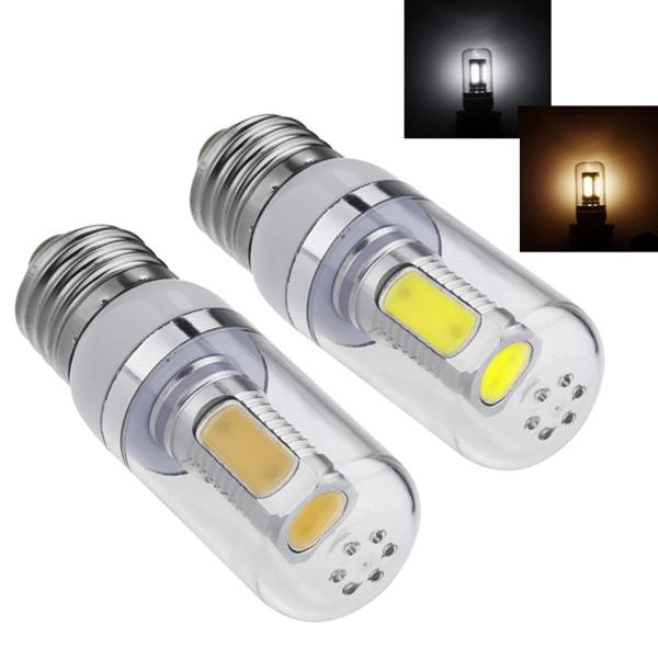 Energy Saving LED Corn Light E27 COB 7.5W Bulb Lamps Lighting 360 Degree White/Warm White 85-265V Led Light Hight Bright(China (Mainland))