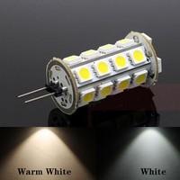 10pcs/lot free shipping 7W 12V G4 led Corn Light 3528 SMD 68 led non-polar Silicon lamp 360 Degree for Universal Car LemonBest