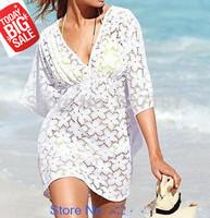 women summer dress 2014 sexy lace white flower beach dress casual dress vestidos desigual vestido de festa women clothing