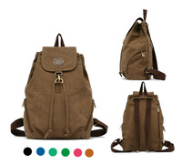 fashion vintage women backpack canvas school bags backpacks for teenage girls 6 colors can choose
