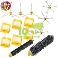 Hepa Filter,Side Brush,Bristle and Flexible Beater Brush for iRobot Roomba 700 Series 770 780 790