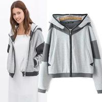 2014 European Style Women clothing new winter coats thick velvet hooded sweatshirt pullover fleece hoodie women coat