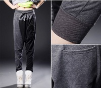 The 2014 Summer and Autumn Women's Harem Pants Casual  Fashion MM Big Size Cool Loose Big Crotch Pencil Pants Ladies Harem Pants