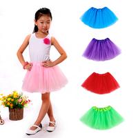 Fashion 2014 Summer Soft Fluffy Tutu 1pc/Lot Girl Skirts Tutu Girls Tulle Skirt Tutu Skirts Girls Free Shipping
