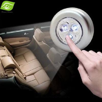 2Pcs/Lot Multi Function LED Stick Touch Lamp 6.8cm Battery Power LED Lighting lamp Car Home(China (Mainland))