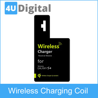 Qi Standard Wireless Charging Receiver for Samsung Galaxy S4 i9500/i9505 Black white for choice