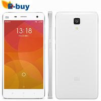 In stock Original Xiaomi Mi4 M4 3G RAM 16GB/ 64GB WCDMA Mobile Phone Android 4.4 snapdragon 801 quad core 2.5GHz 3GB RAM