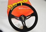 Drift Sandy Suede Series !! Racing Drafting Steering Wheels.High Quality-Car Styling