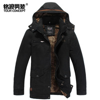 Freeshipping !!2014 New man jacket  for autumn and winter  men hooded  outdoor Thickening warm cloths and M-3XL size,hot (Z0135)