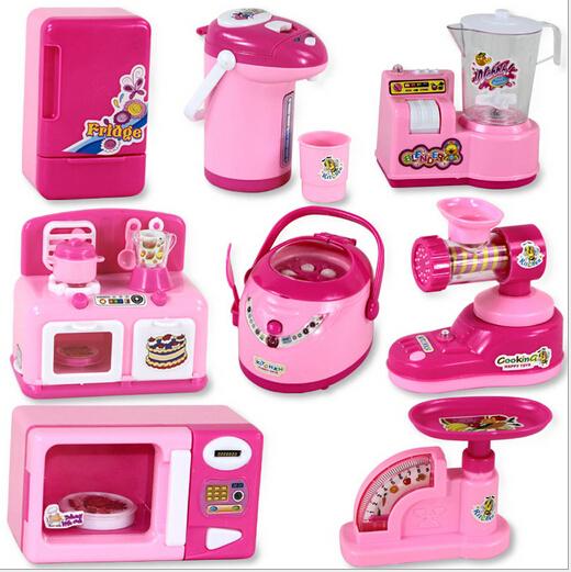Baby girls toys pretend toys simulation font b furniture b font font b