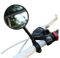 Bicycle reflector rearview mirror bicycle accessories free shipping ZXC006 10pcs/lot