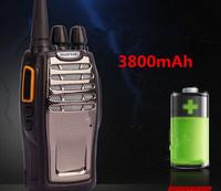 updated new bf-888s ii waterproof 3900mah portable two-way radio walkie talkie interphone with radio function
