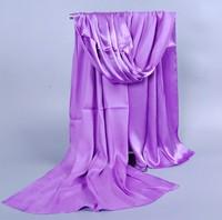 165cm*50cm Long Scarves 2014 Autumn New Fashion Spring Winter Women Silk Scarf Female Warm Solid Scarf Lady wrap Free Shipping