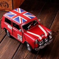 vintage car retro finishing iron toy nostalgic memory of the gift  christmas gift  holiday gift
