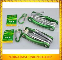 Free shipping 9pcs/set Extra Long Hex Key Ball End Set Allen Keys9Wrench Tool Handle