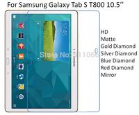 For Samsung Galaxy Tab S T800 10.5'' HD/Matte/Diamond Screen Protector Film Free Shipping