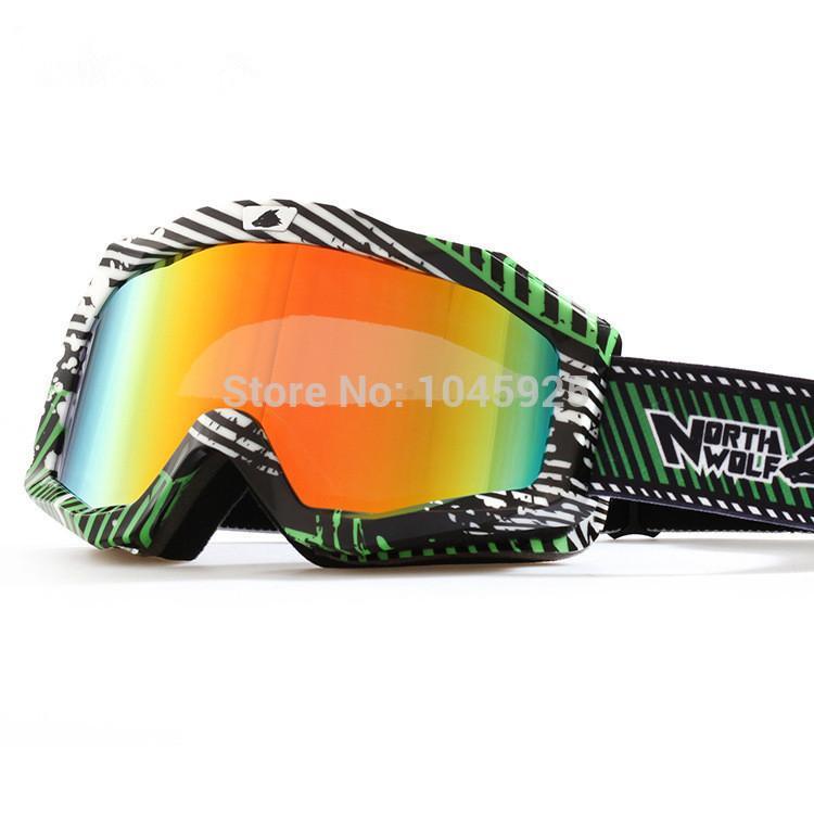 New 2014 Ski Goggles Double Anti-fog Skiing Glasses Snow Sports Ski Clear Lens Mountaineering Mirror Snowmobile Goggle(China (Mainland))