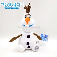 "2014 new  Frozen Olaf Snowman Plush Doll Stuffed Plush Toy 12"" 30cm White frozen olaf toy for kids retail"