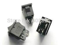 Black rocker switch 4pins power switch without light 6A/250V 10A/125V