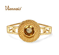 New top quality real gold plated buluo impression vintage conciseness luxury bracelet/bangles Viennois jewelry (UVOGUE UB00218)