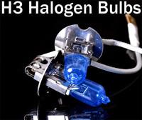 New 2x PK22S H3 6000K Xenon Car HeadLight Bulb Halogen Light Super White 12V 55W