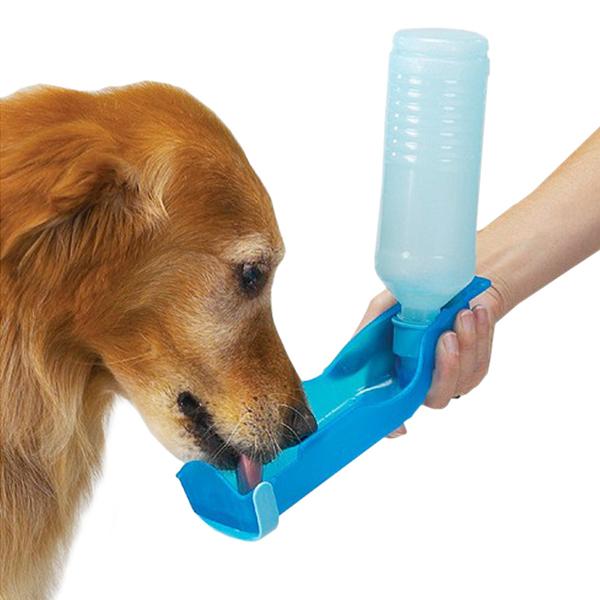250ml Foldable Pet Dog Cat Water Drinking Bottle Dispenser Travel Feeding Bowl(China (Mainland))