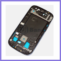 100pcs/lot Blue Silver Original Middle Housing Chassis Bezel Plate Front Frame For Samsung Galaxy S3 i535 R530
