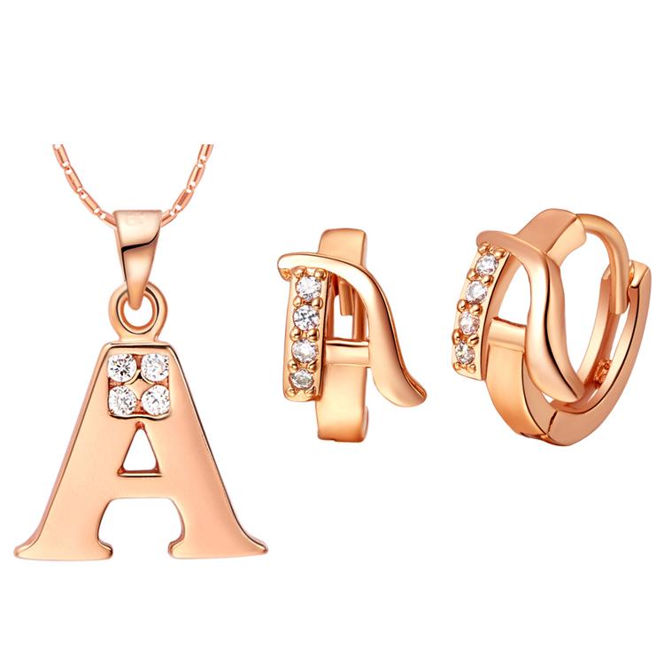 [해외]?/ Best Quality 18K Gold Plated Jewelry Set,Fashion..