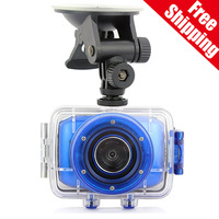 2014 Sport F5 MiNi Action Camera Waterproof DVR 2.0 Inch LCD Touch screen + 4 Times Digital Zoom Underwater Camera Sport DV