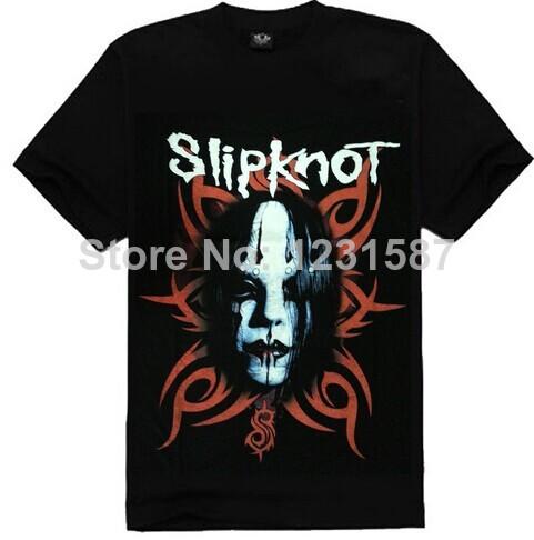 Atacado algodão preto t-shirt 3D slipknot bandas preto manga curta t-shirt do esporte losse hip-hop t-shirt 0888(China (Mainland))