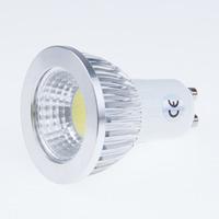 500PCS GU10 6W 9W 12W COB Dimmable LED Bulb Sport light lamp High Power 60 degrees warm white cool white AC85-265V