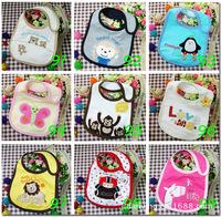 Brand New Animal style Hello Kitty Baby Kid Fitting Saliva towels Waterproof Infant Bibs Pinafore Baby Eat