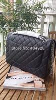 2014  purse 33cm original leather chain bag  new fashion  wholesale and retail brand  women design handbag