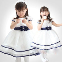 Free & Dropshipping Baby Kids Girls Princess High Waist Ruffle Gown Toddler Bowknot Lace Tutu Dress