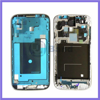 100pcs/lot For Samsung Galaxy S4 i337 M919 Silver Front Frame Cover Bezel Panel Repair Part