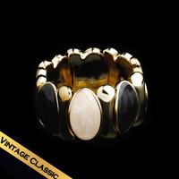 Special Bangle Bracelet Lucite Resin Vintage Trendy  Classic  Elastic type SZ14A072305